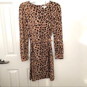 Cheetah Print Merona Dress